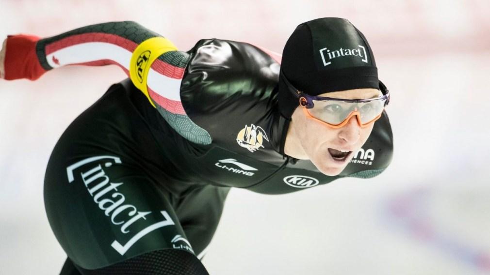 Ivanie Blondin skating