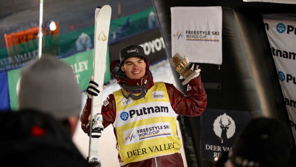 Mikaël Kingsbury is moguls World Champion