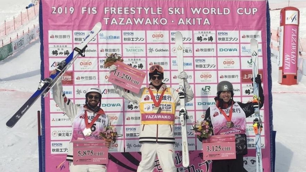 Kingsbury remains on top, Philippe Marquis claims silver at moguls worlds in Japan
