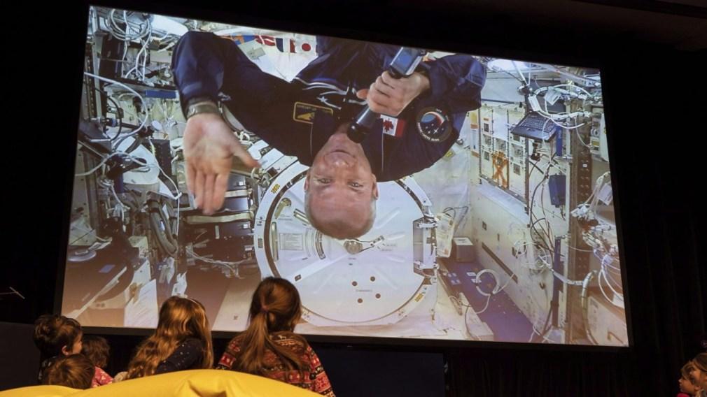 Team Canada talks space with astronaut David Saint-Jacques