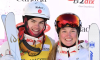 Mikaël Kingsbury and Justine Dufour-Lapointe reach the podium in Kazakhstan