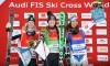 Marielle Thompson and Brady Leman finish their ski cross season on the podium