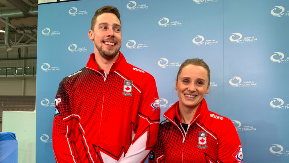 Curling: Team Canada earns silver at world mixed doubles championships