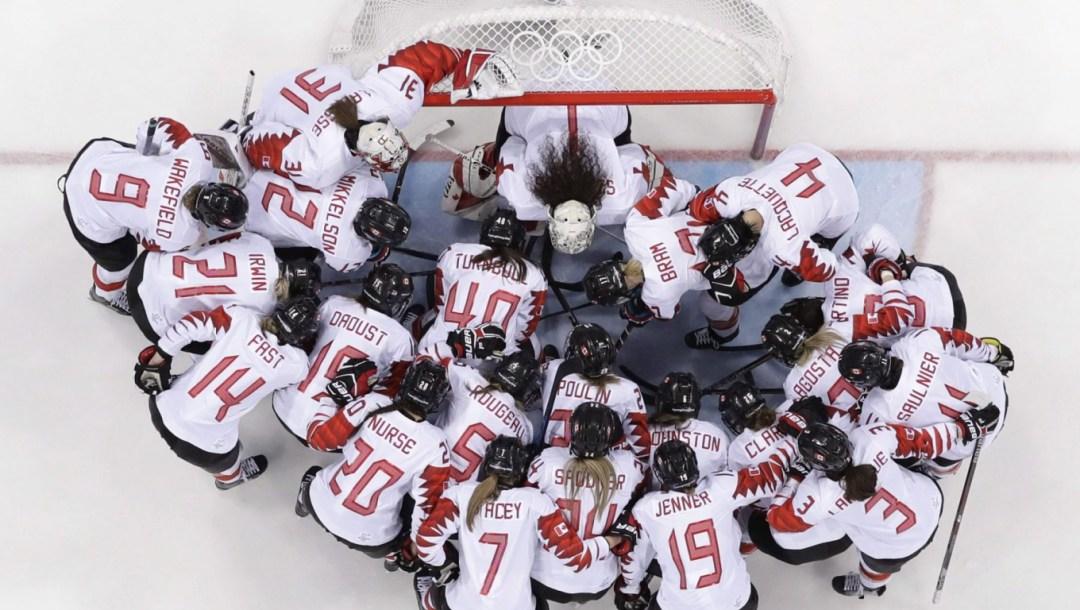 Team Canada Women's Hockey PyeongChang 2018