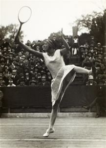 Suzanne Lenglen jumping