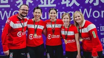 Team Jennifer Jones - Curling World Cup Grand Final