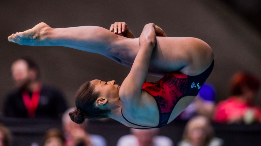 Gold for Jennifer Abel at the Diving World Series in Russia