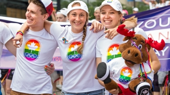 Canadian Olympic Committee - You Can Play - Pride Parade