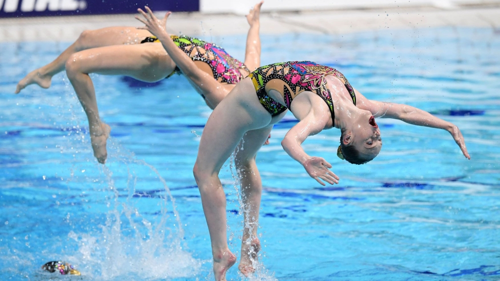 Three medals for Canada at the Artistic World Swimming Series in Beijing