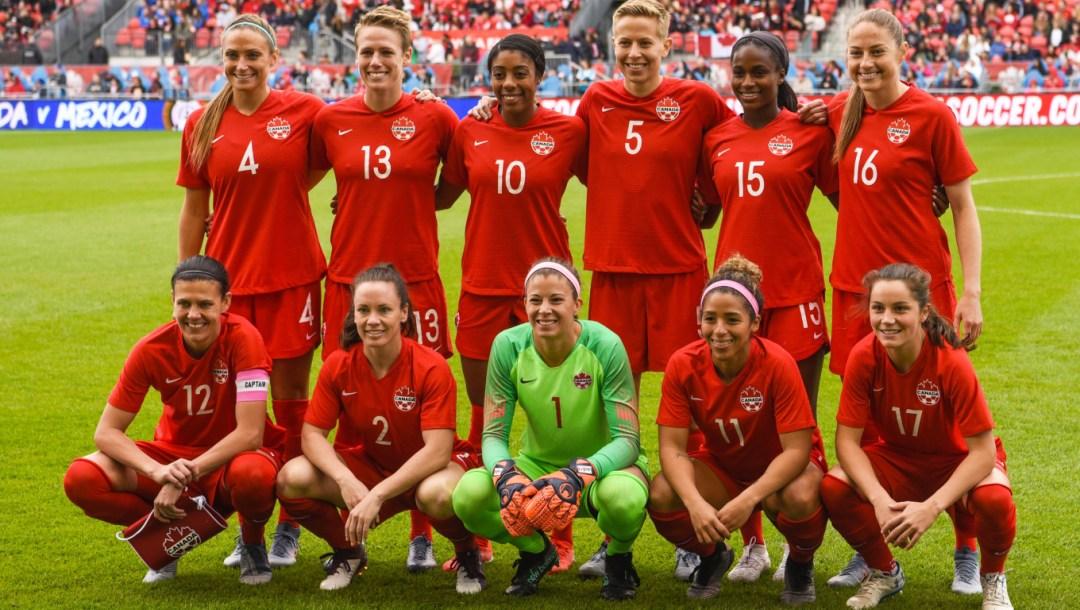 Team Canada womens national soccer team
