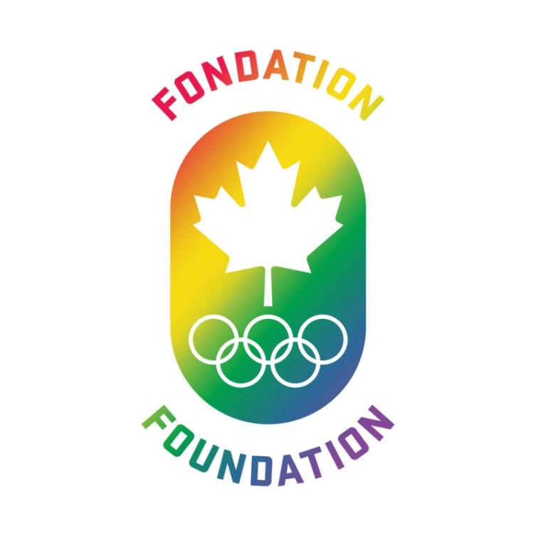 Canadian Olympic Foundation Pride Logo