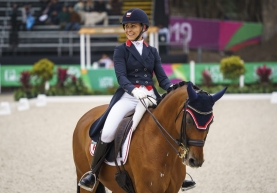 Jill Irving and her horse