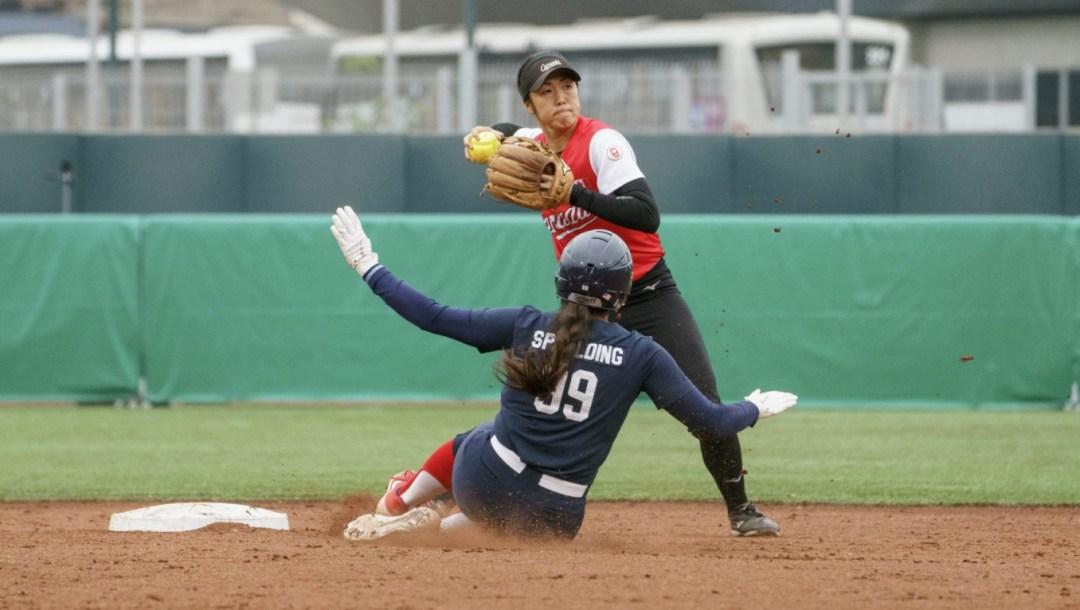 Janet Leung Lima 2019 Pan AM Games Softball