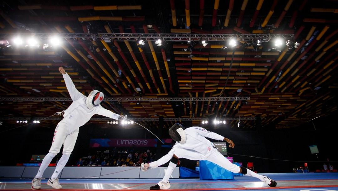marc-antione blair belanger lima 2019 pan am games fencing
