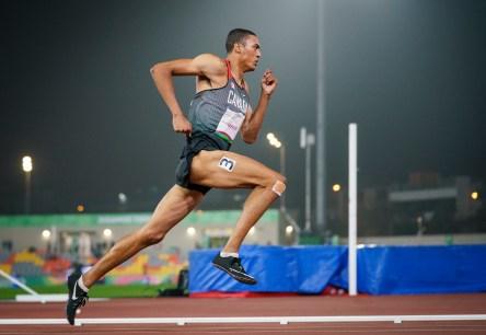 Pierce Lepage running