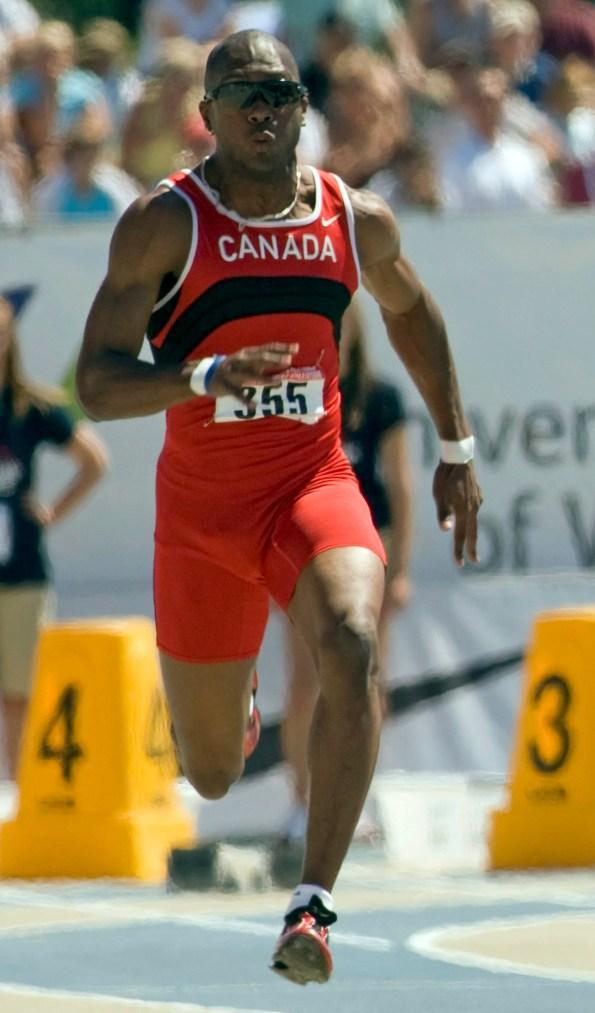 Hank Palmer running