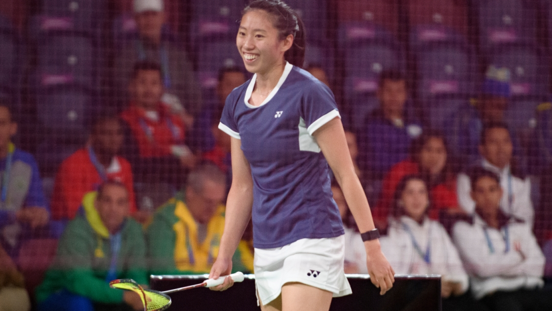 Kristen Tsai Lim Peru Pan Am Badminton