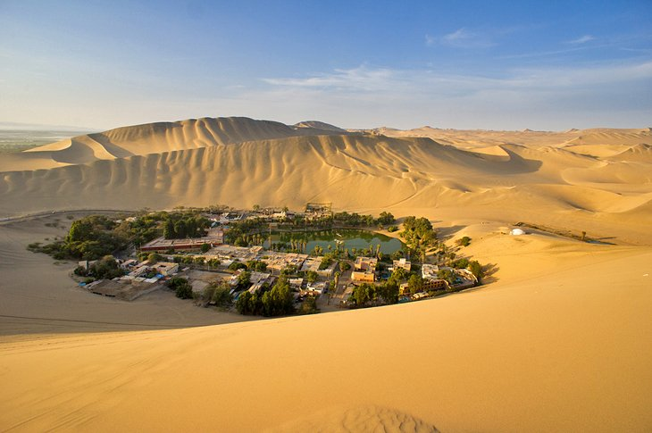 Ica and the Sand Dunes at Huacachina