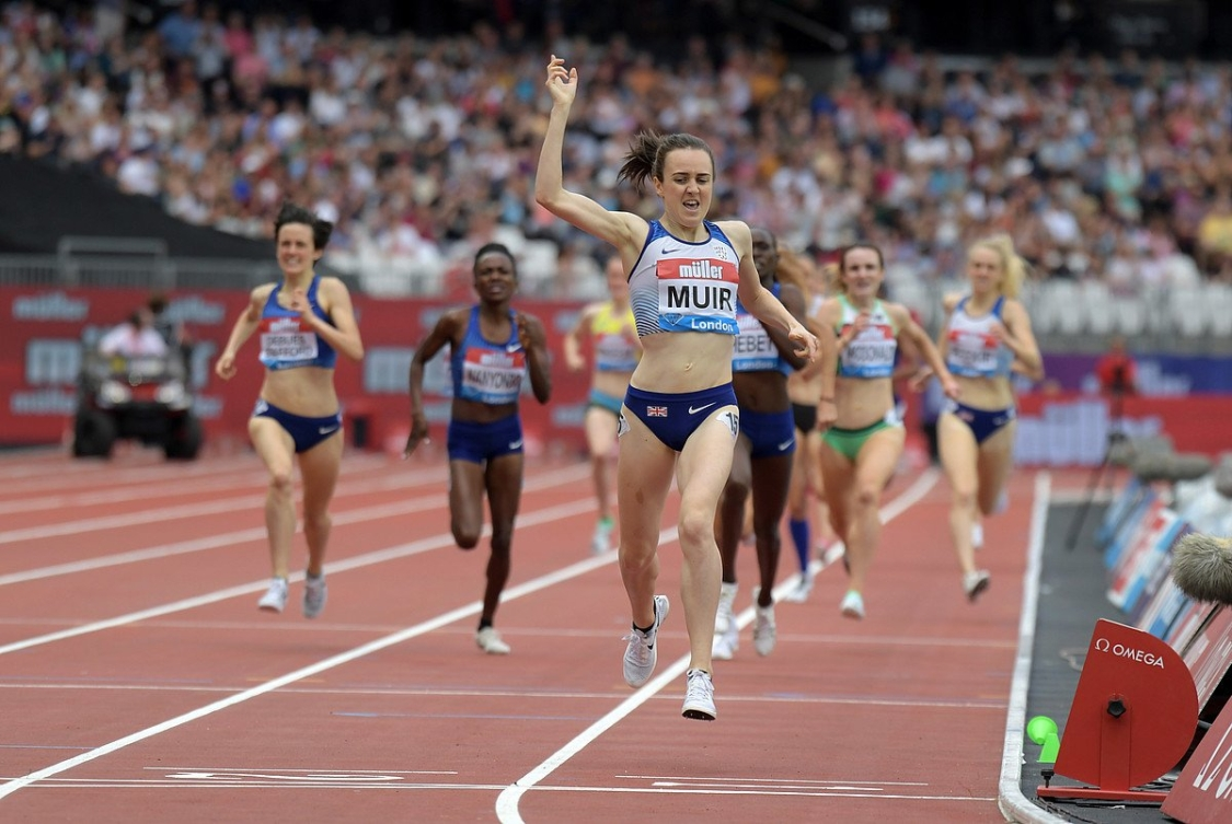 The women's 1500m race on Saturday July 20, 2019 on the first day of the London Diamond League.