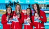 Canada wins bronze in women's 4x200m freestyle relay at FINA Worlds