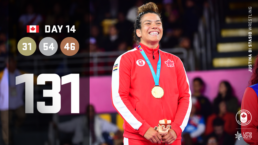 Day 14 at Lima 2019: Team Canada lands largest medal haul of the Games