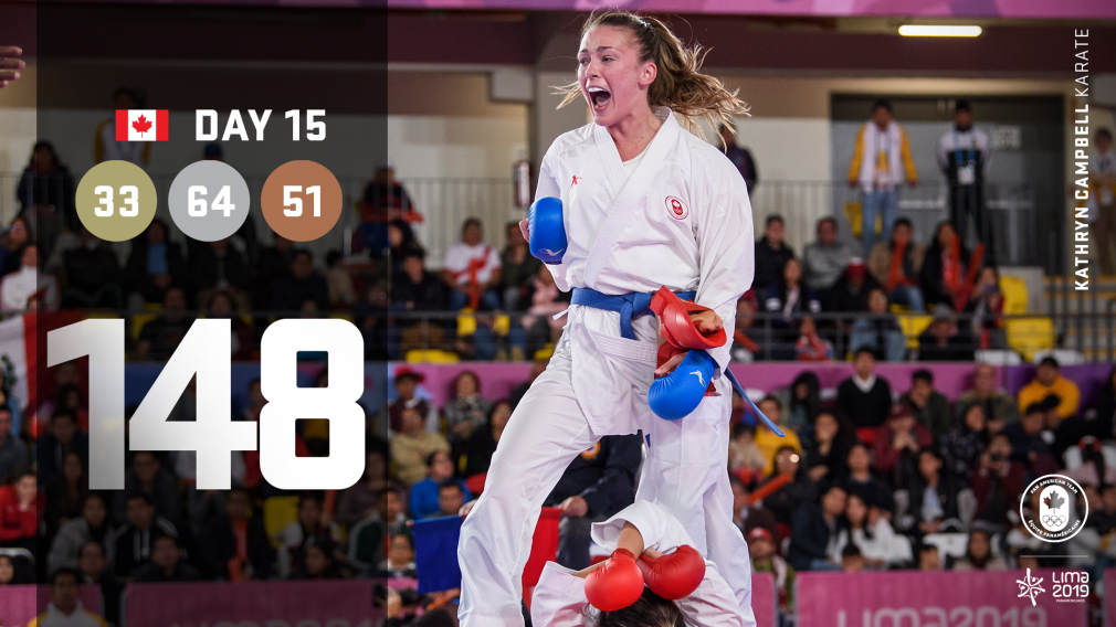 Day 15 at Lima 2019: Team Canada's successful Saturday