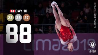 Day 10 Lima recap, Samantha Smith midair