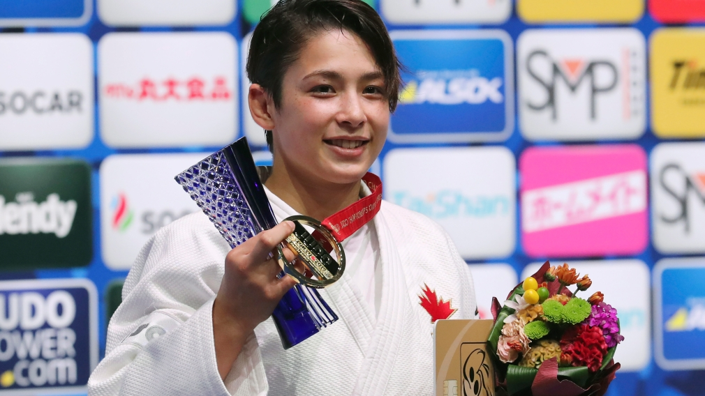 Christa Deguchi makes history as Canada's first judo world champion
