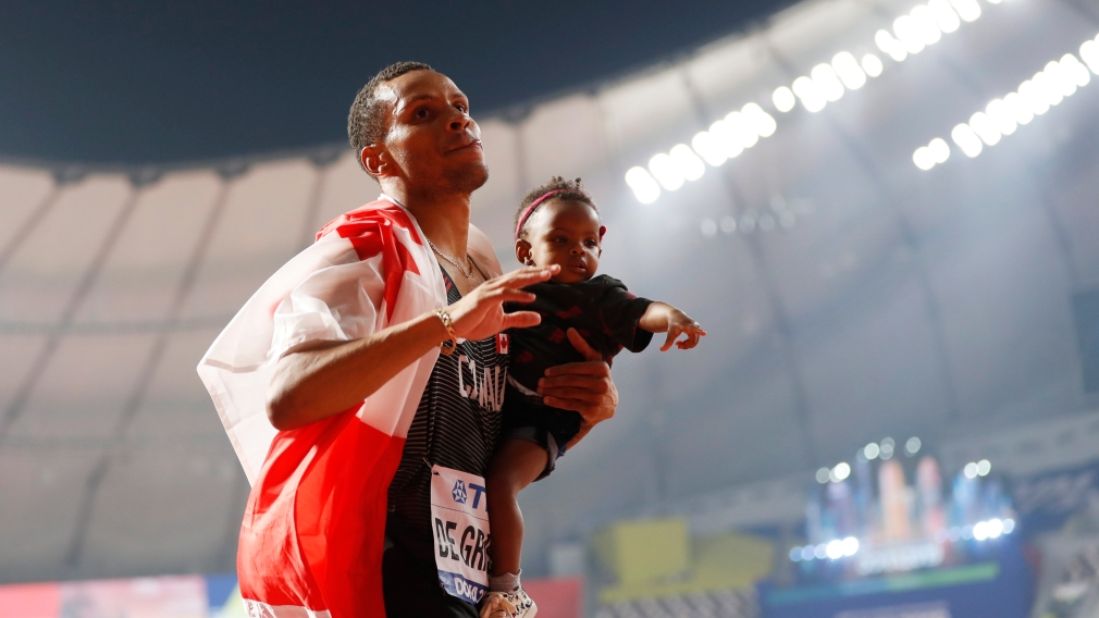 Weekend roundup: Andre De Grasse wins bronze in Doha