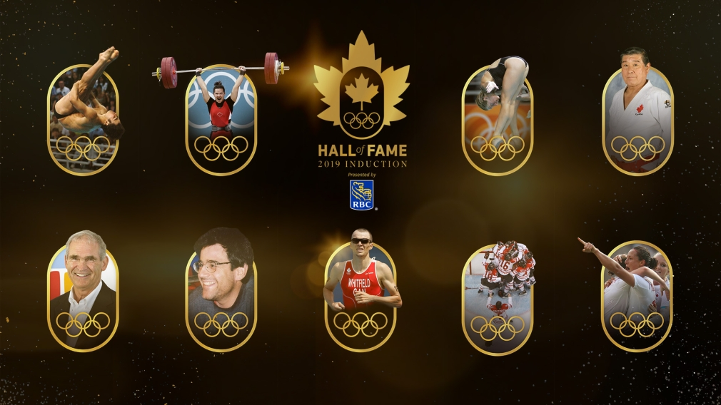 2019 Canadian Olympic Hall of Fame Inductees Announced