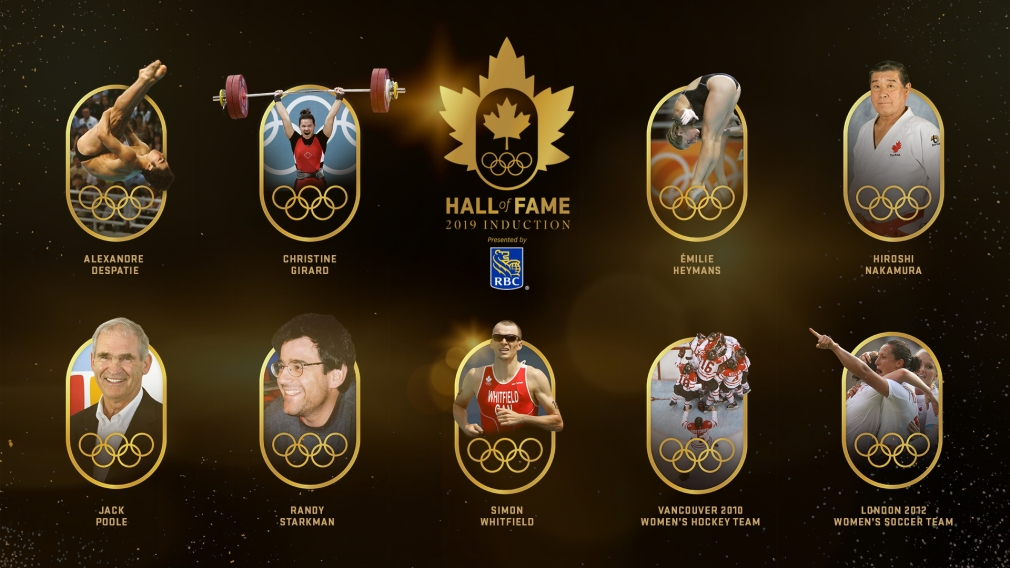 Canadian Olympic Hall of Fame Class of 2019 unveiled