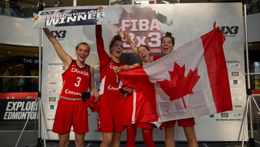 Team Canada FIBA Women's 3x3 Series Edmonton