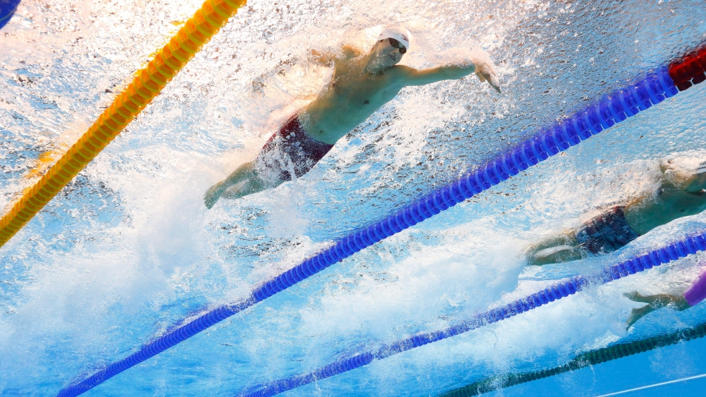 Canadian swimmers made a splash on day one of ISL Grand Finale