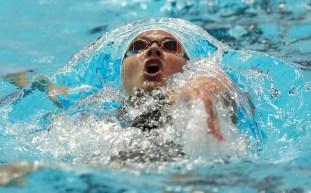 Swimmer in water
