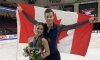Laurence Fournier Beaudry and Nikolaj Sørensen earn bronze at Skate America