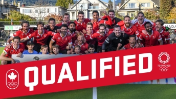 Team Canada's men's field hockey team qualifies for the Tokyo 2020 Olympics