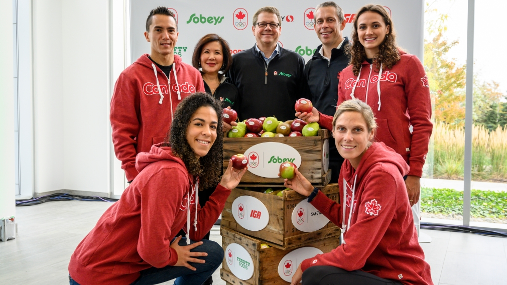 Empire Company and its family of grocers – Sobeys, IGA, Safeway, Farm Boy, Foodland, FreshCo, Thrifty Foods and Rachelle Béry – sign historic Olympic sponsorship becoming first-ever Official Grocer of Team Canada