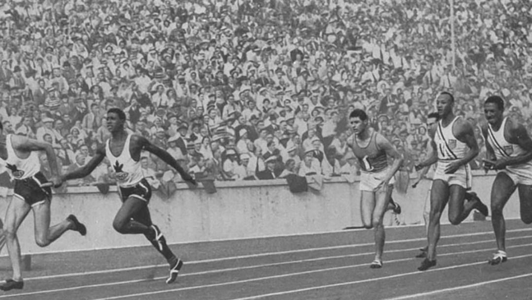 Sam Richardson - 1936 Olympics