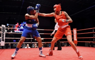 Tammara Thibeault boxing
