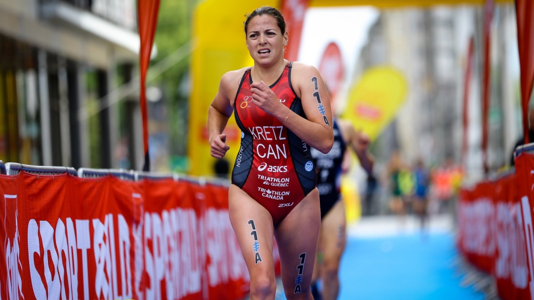 Amelie Kretz running