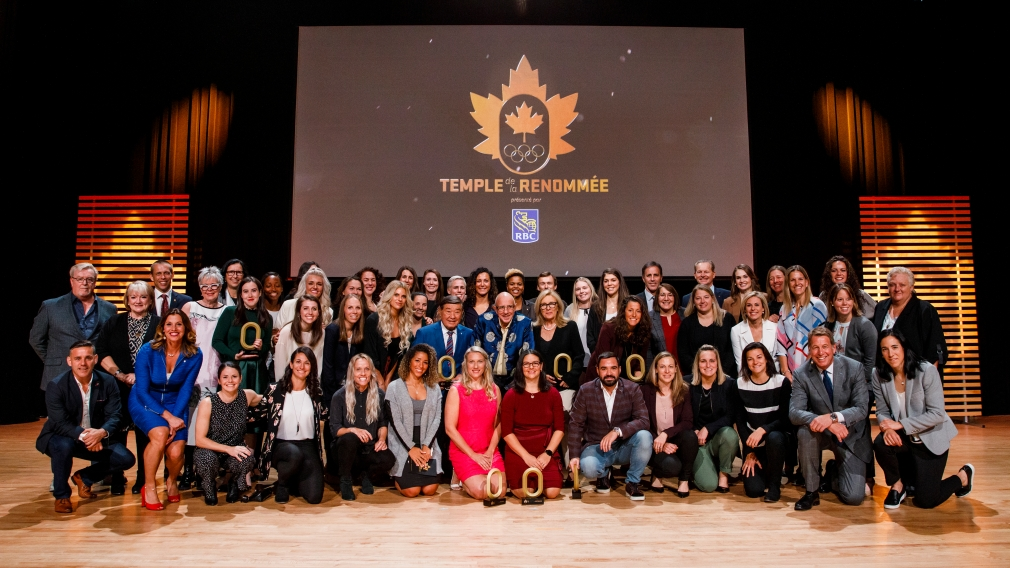 Team Canada's Class of 2019 inducted into the Canadian Olympic Hall of Fame