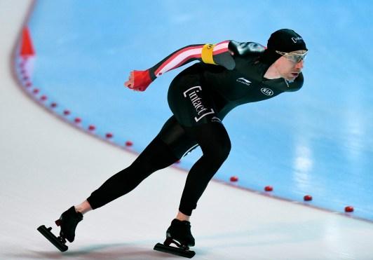 Ted-Jan Bloemen competing