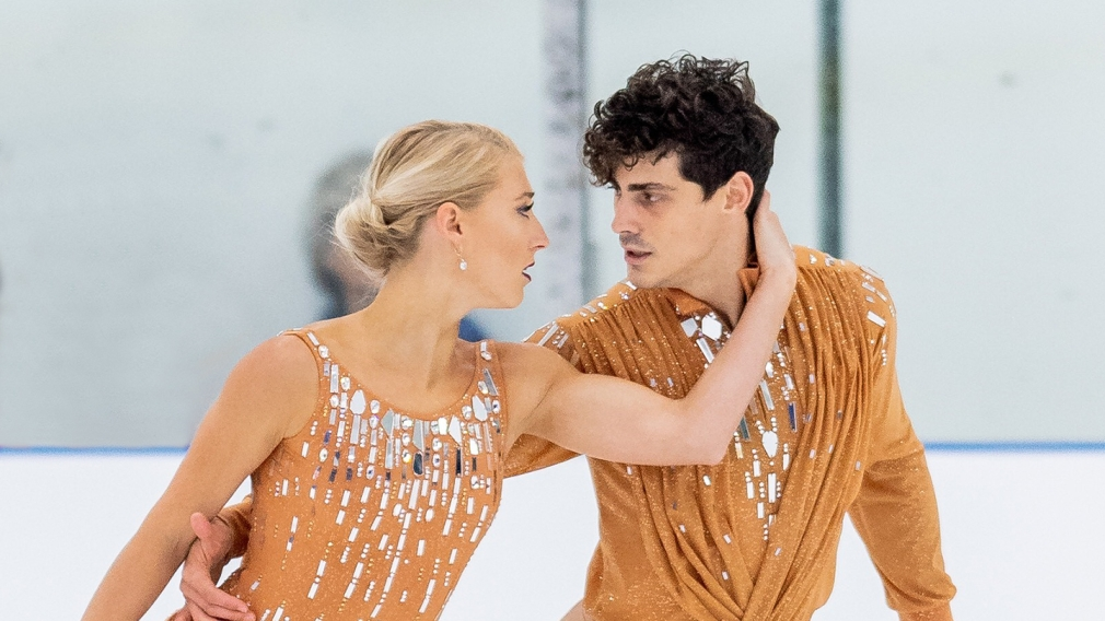 Piper Gilles and Paul Poirier skate the free dance during the 2019 ISU Grand Prix of Figure Skating. Canadian skaters bring home one medal in ice dance on Saturday at Skate Canada International, in Kelowna, B.C. (October 26, 2019)