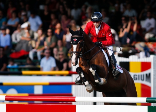 Eric Lamaze at Spruce Meadows