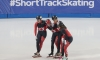 Short Track: Canadian women's relay team win gold in Shanghai