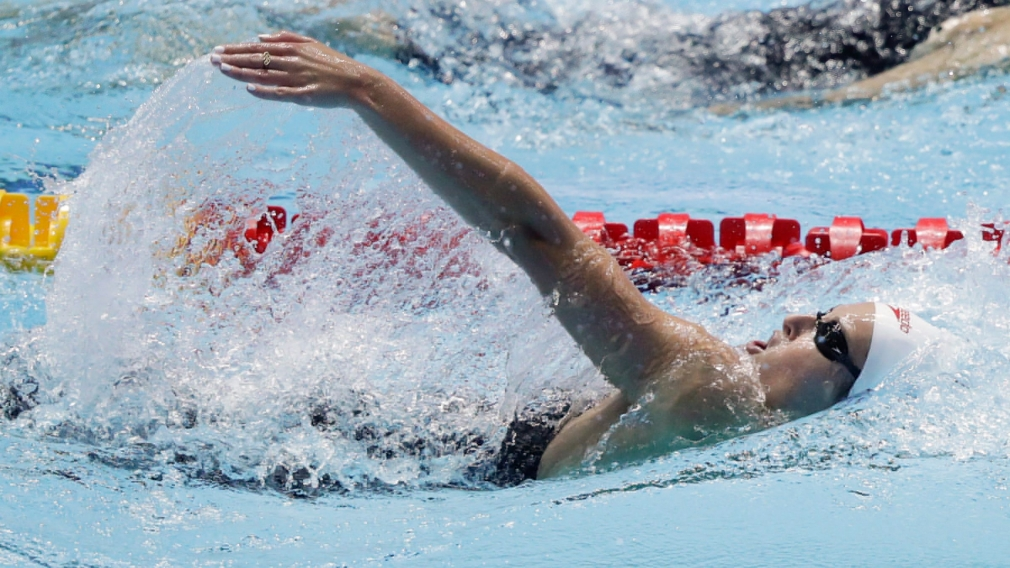 Record-setting season for Canadians at the International Swimming League