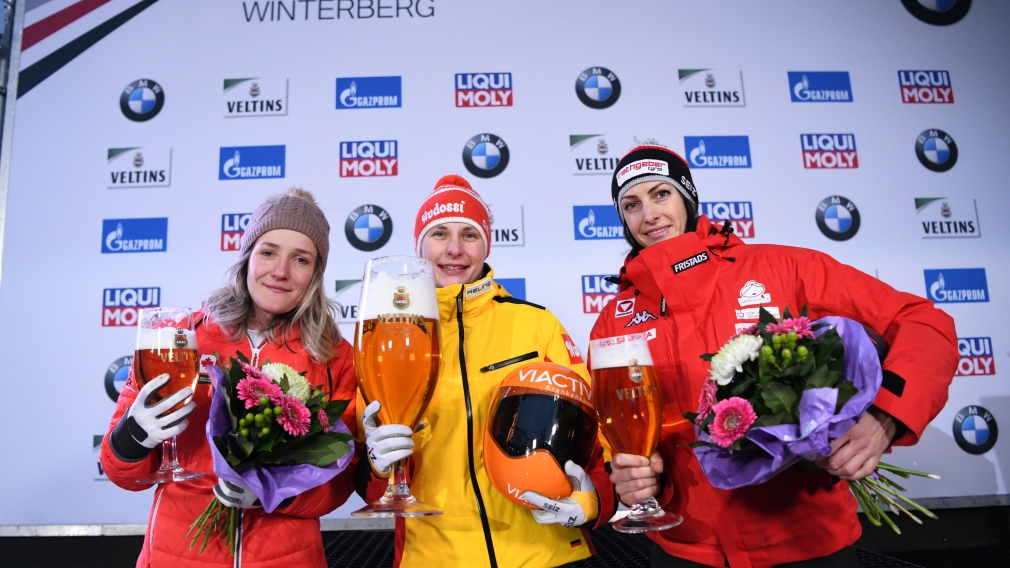 Mirela Rahneva wins skeleton silver in Winterberg, Germany January 5th, 2020