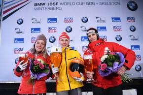 Mirela Rahneva wins skeleton silver in Winterberg, Germany January 5th, 2020