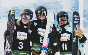 Elena Gaskell FIS Freeski World Cup on January 18, 2020