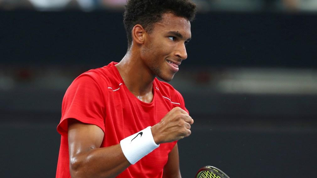 Félix Auger-Aliassime advances to doubles finals at Paris Masters